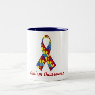 Tasse de sensibilisation sur l'autisme