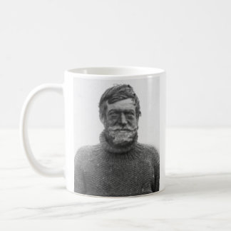Tasse de Shackleton - décrivez et citation de