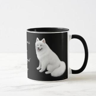 Tasse de sonnerie de chien de Samoyed