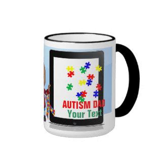 Tasse de sonnerie de papa d'autisme