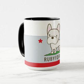 Tasse de sonnerie de Rubyfornia