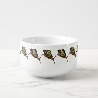 tasse de soupe à escargot