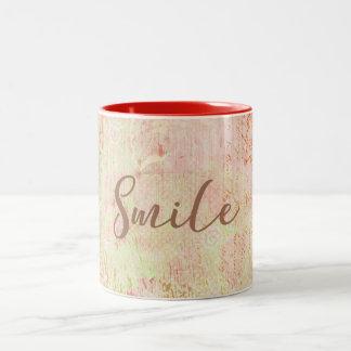 Tasse de sourire