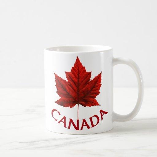 Tasse de souvenir de feuille d'érable du Canada de