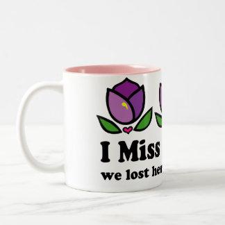 Tasse de souvenir de la maman d'Alzheimer