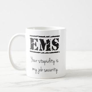 Tasse de stupidité/sécurité de l'emploi de SME