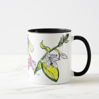 Tasse de surcharge de fleur