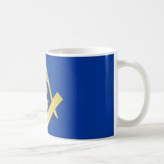 Tasse de symbole de franc-maçonnerie