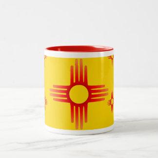 Tasse de symbole de Zia Sun