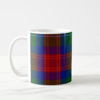 Tasse de tartan d'Akins de clan (couleurs