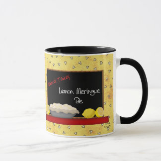 Tasse de tarte de meringue de citron
