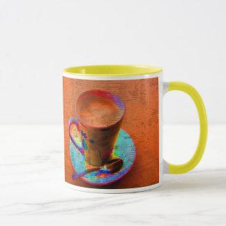 Tasse de tasse de café d'art de bruit