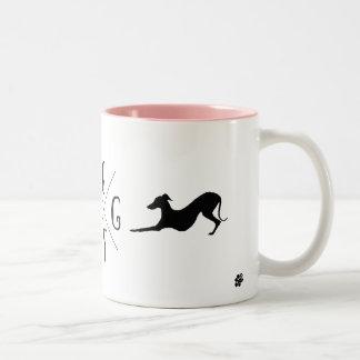 Tasse de tasse de chien de lévrier italien