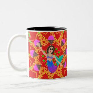 Tasse de tasse de thé de café de crème glacée de