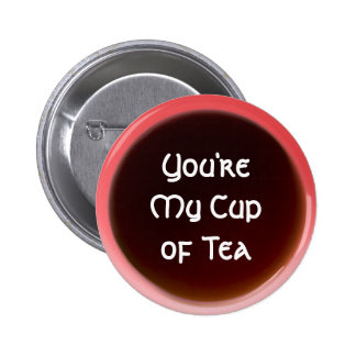 Tasse de thé badge