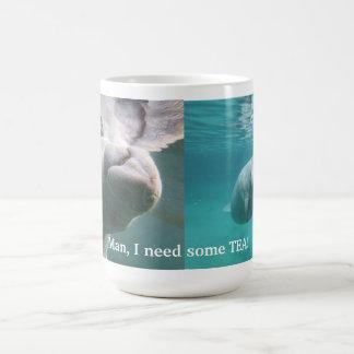 Tasse de thé de lamantin