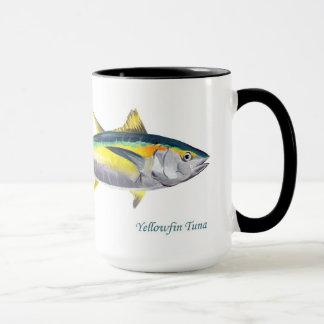 Tasse de thons de truite saumonnée