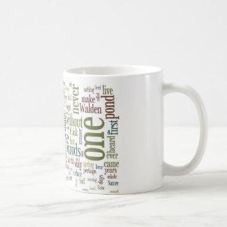 Tasse de Thoreau Walden