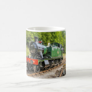 Tasse de train de vapeur