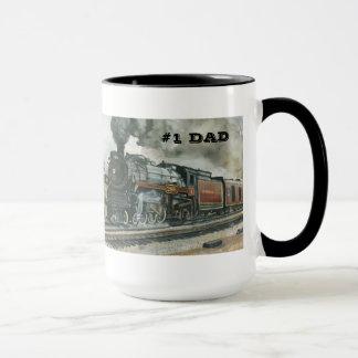 Tasse de train pour le papa #1