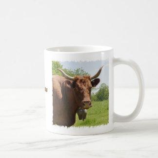 Tasse de vache à Salers