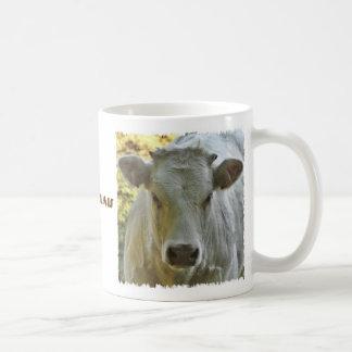 Tasse de vache du charolais