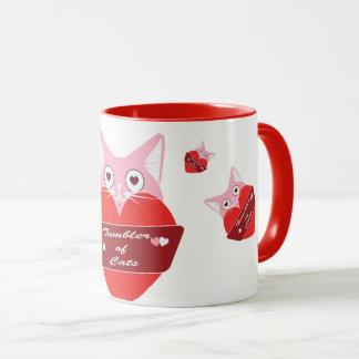 Tasse de Valentine Tumblercat d'Edition spéciale