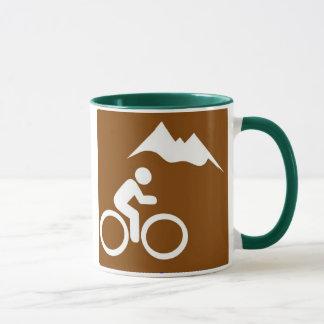Tasse de vélo de montagne