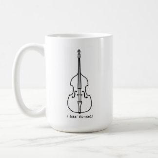Tasse de violon bas