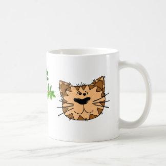 tasse de visage de chat