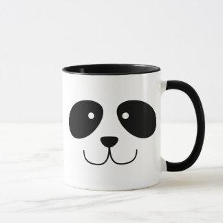 Tasse de visage de panda