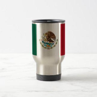 Tasse de voyage avec le drapeau du Mexique