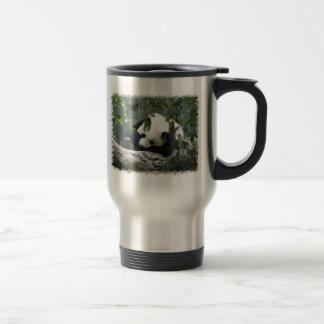 Tasse de voyage d acier inoxydable de panda géant