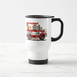 Tasse de voyage d'ambulance de camion de boîte