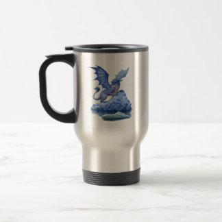 Tasse de voyage de dragon de glace