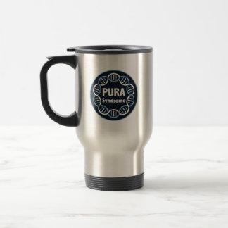Tasse de voyage de logo de PURA