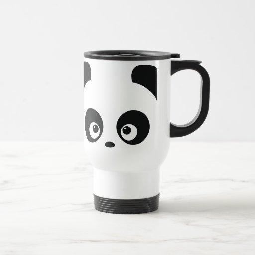 Tasse de voyage de Panda® d'amour