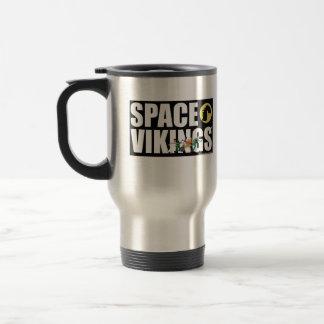 Tasse de voyage de police de Vikings de l'espace