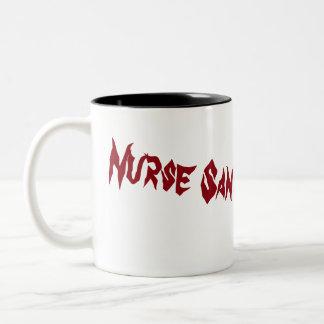 Tasse de voyage de santé d'esprit d'infirmière