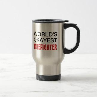 Tasse de voyage de sapeur-pompier d'Okayest du