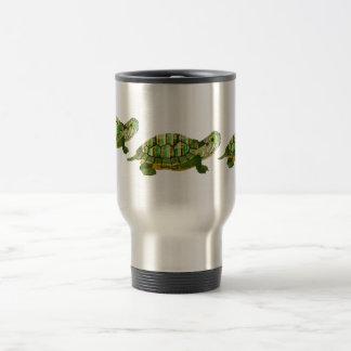 Tasse de voyage de tortue de jade