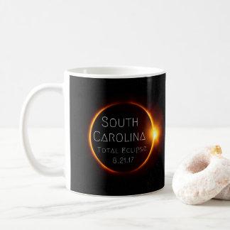 Tasse d'éclipse totale de la Caroline du Sud