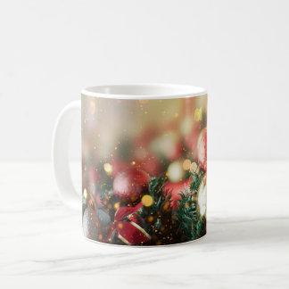 Tasse décorative de Noël d'ornement de guirlande