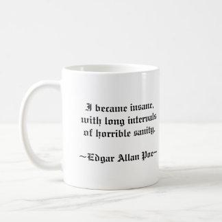 Tasse d'Edgar Allan Poe
