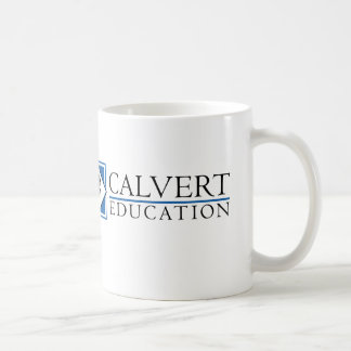 Tasse d'éducation de Calvert (blanche)
