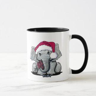 Tasse d'éléphant de Père Noël