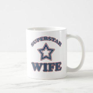Tasse d'épouse de superstar