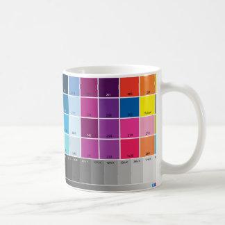 Tasse d'épreuve-couleur