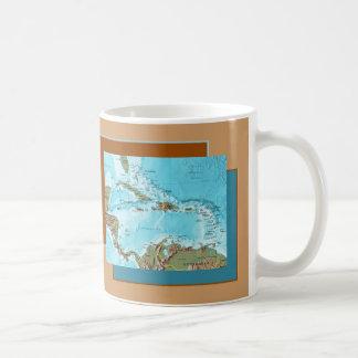 Tasse des Caraïbes de carte