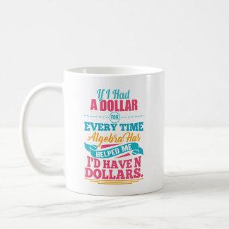 Tasse des dollars du calembour N d'équation